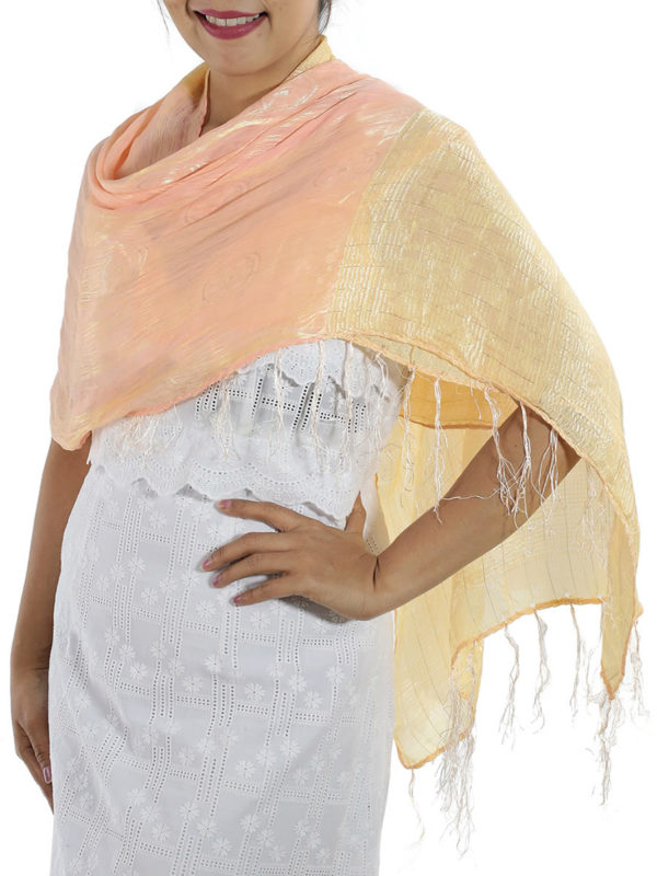 Baby Pink Silk Wrap