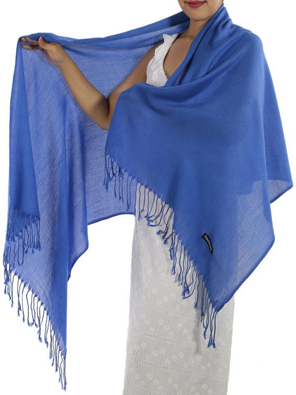 blue cashmere scarf 1
