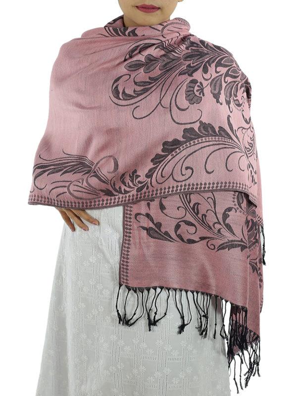 buy hot pink pashmina scarf