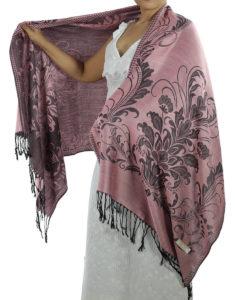 buy hot pink pashmina wrap