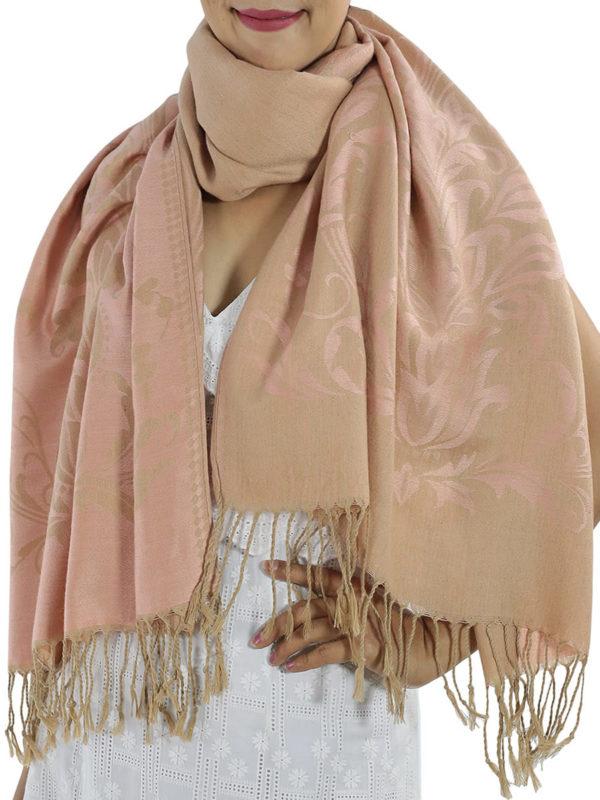 buy pink pashmina wrap