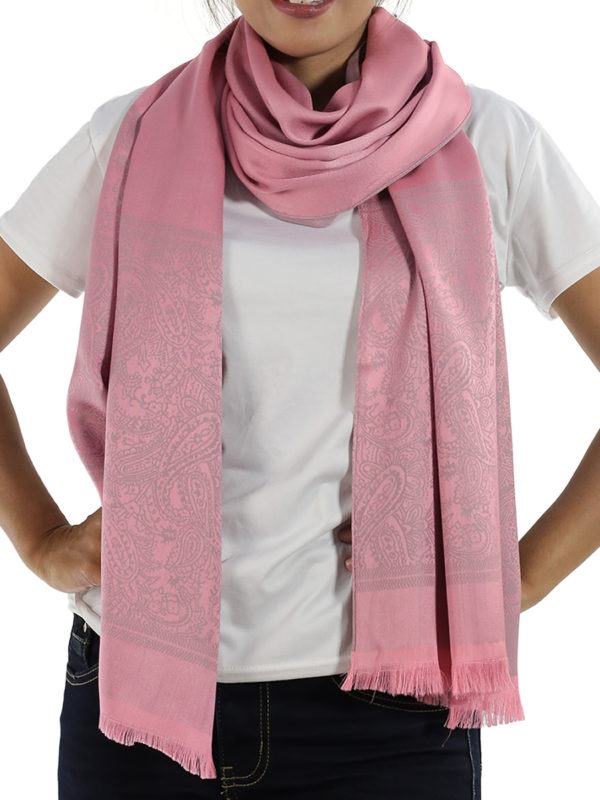 buy pink silk shawls