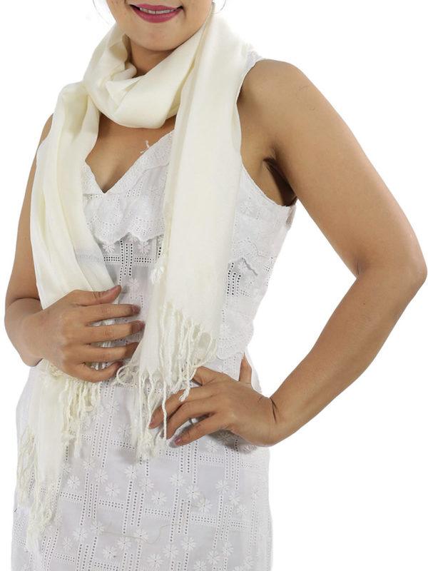 ivory cashmere