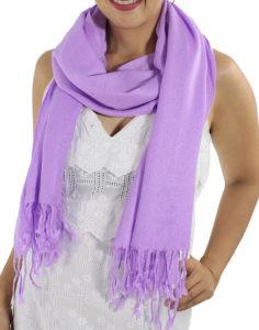 lavender pashminas 1