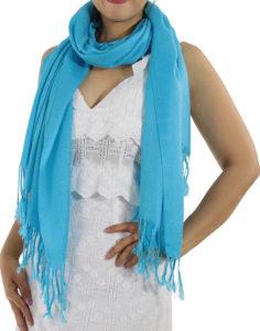 light blue pashminas